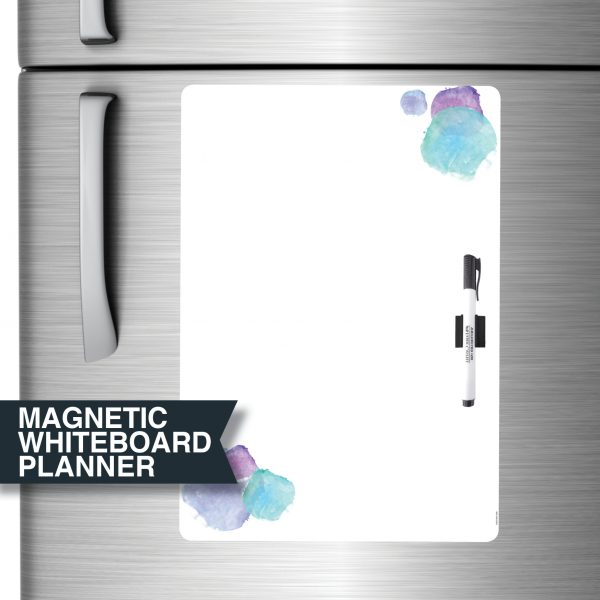 A3 Blue All-purpose Magnetic Whiteboard