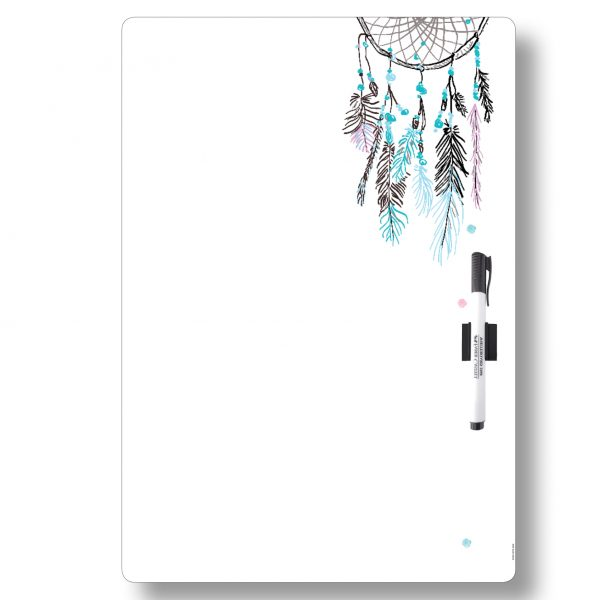 Dreamcatcher All-purpose Magnetic Whiteboard A3