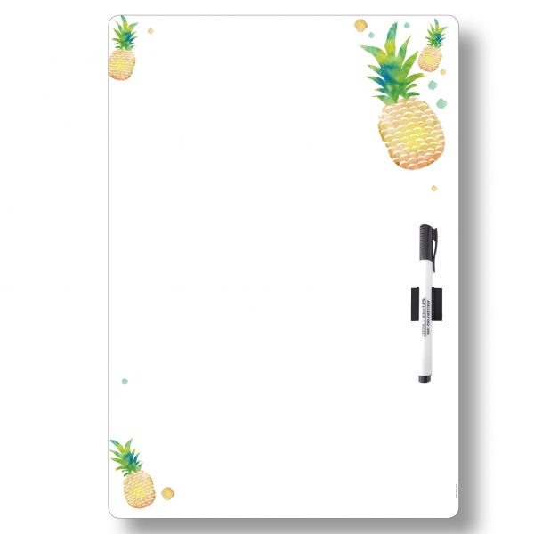 Magnetic Whiteboard A3 All-purpose Pineapple