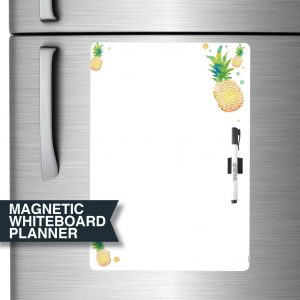 Pineapple All-Purpose Magnetic Whiteboard A3