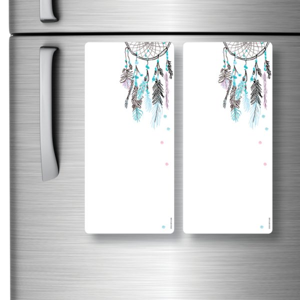 Magnetic Refrigerator Whiteboards Dreamcatcher x 2