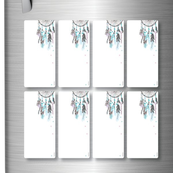 Magnetic Refrigerator Whiteboards Dreamcatcher x 8