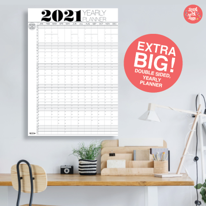 2021 planner organiser free shipping anywhere in Australia