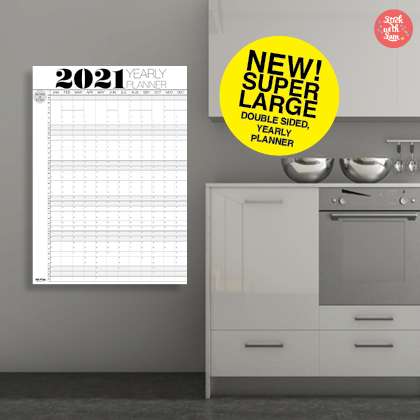 2021 wall calendar 2021 Australia made and designed. Australia company