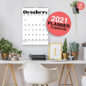 2021 Calendar by Stick with Sam