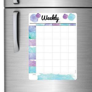 Whiteboard Weekly Planner Australian made